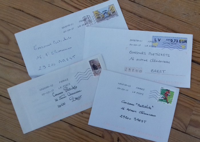 enveloppes concours